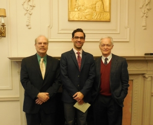 Richard MacDowell, Ramon Wodkowski and Larry Guy at the Curtis Institute of Music, Philadelphia